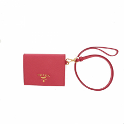 Prada wallet with removable strap