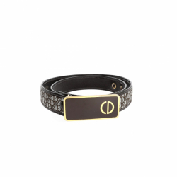 Christian Dior logo belt