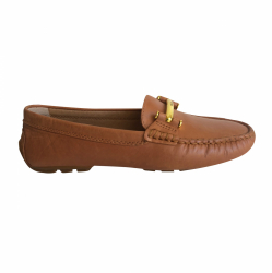 LAUREN Ralph Lauren Natural leather moccasins