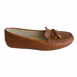MICHAEL Michael Kors Moccasins Brown leather