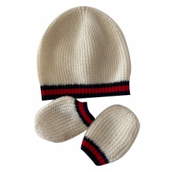 Gucci Hat and gloves Cashmere