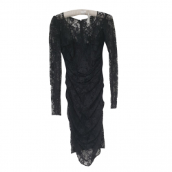 Dolce & Gabbana Mid-length black lace dress