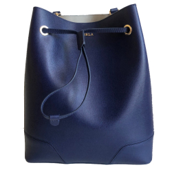 Furla Blue Shopping Bag