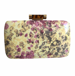 Bally Flower Pouch