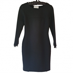 Emilio Pucci Black dress with lace back