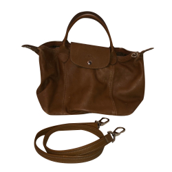 Longchamp Leather folding