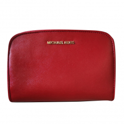 Michael Kors Reese Leather Mini Messenger Bag 18K
