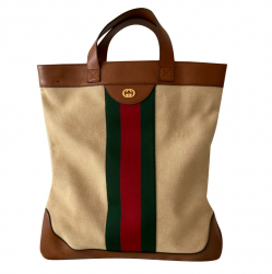 Gucci Large Canvas Interlocking Web
