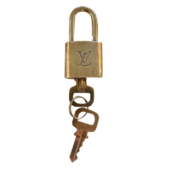 Louis Vuitton Original Louis Vuitton lock