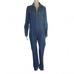 Gerard Darel Denim Jumpsuit