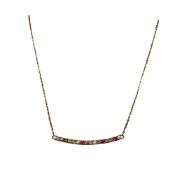 Avinas Yellow Gold Plated Necklace
