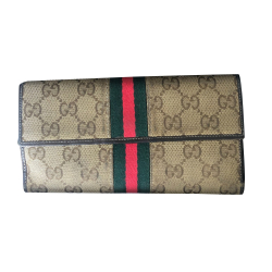 Gucci monogram long wallet