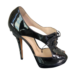 Casadei Patent leather stacked