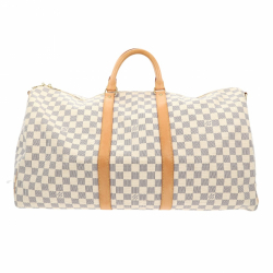 Louis Vuitton Keepall Bandoulière 55 Damier Azur