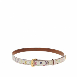 Louis Vuitton Multicolor Monogram belt