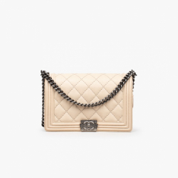 Chanel Large Double Stitch Boy Bag