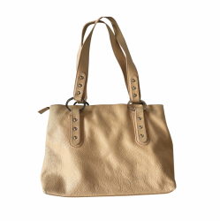 Navyboot Sand colour  leather tote