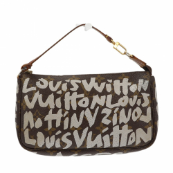 Louis Vuitton x Stephen Sprouse Graffiti Pochette Accessoires Monogram