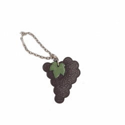 Hermès Fruit Keychain (Grapes)