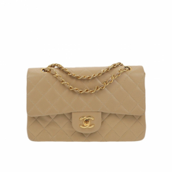 Chanel Double Flap Timeless Vintage Shoulder Bag