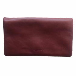 Lancel Bordeaux Pouch
