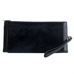 Lancel Leather and skin pouch