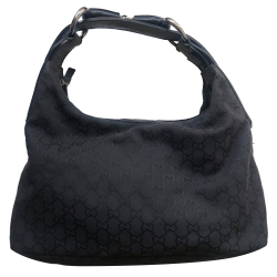 Gucci Hobo black Monogram GG