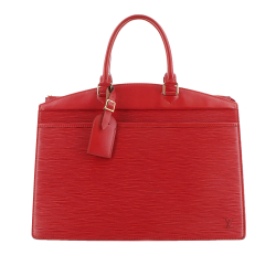 Louis Vuitton B Louis Vuitton Red Epi Leather Leather Epi Riviera France