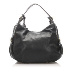Loewe AB Loewe Black Calf Leather Shoulder Bag Spain