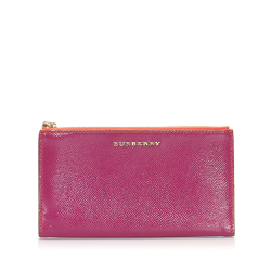 Burberry B Burberry Pink Patent Leather Leather Pouch United Kingdom