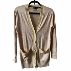 Massimo Dutti Beige and yellow vest