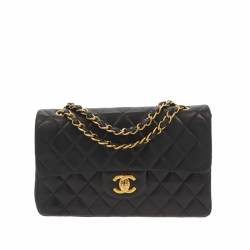 Chanel Timeless Double Flap Vintage Shoulder Bag
