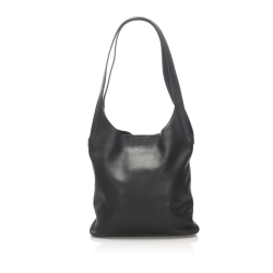 Loewe B Loewe Black Calf Leather Shoulder Bag Spain