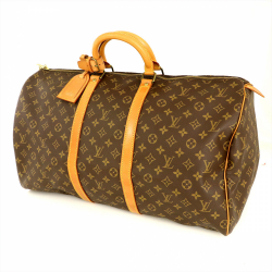 Louis Vuitton LOUIS VUITTON Monogram Keepall 55 M41424 Boston Bag Travel Men's Women's