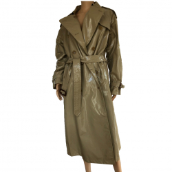 Burberry Coated cotton trench coat