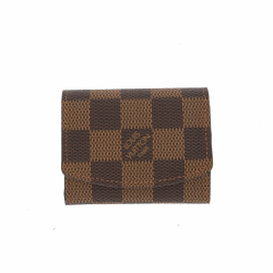 Louis Vuitton SMALL pouch IN BROWN CANVAS