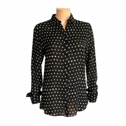Yves Saint Laurent Polka dot blouse