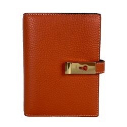 Bally Orange brown wallet