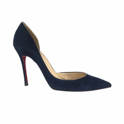Christian Louboutin Suede pumps night blue