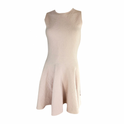 Alexander McQueen Light pink strech dress
