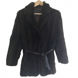 Sandro Fur coat