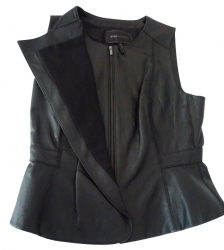 BCBG Max Azria Sleeveless Jacket