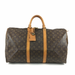 Louis Vuitton Keepall 50 Reisetasche im Monogram