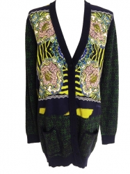Just Cavalli Wool cardigan