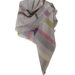 Coach Cotton & Silk Scarf