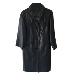 Madame A Paris Manteau en cuir