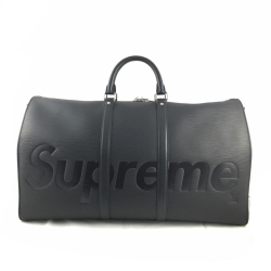 Supreme Louis Vuitton X Supreme Keepall 55 Bandoulière
