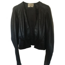Yves Saint Laurent Leder Jacke