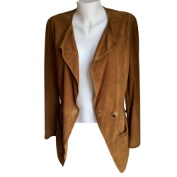 Yves Saint Laurent Suede Jacket