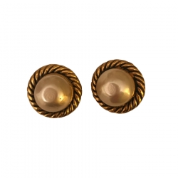 Chanel Clip Earrings
